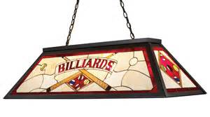 Meyda Tiffany Table Lamp by Elk Lighting 70053 4 Tiffany Stained Glass Pool Table Light