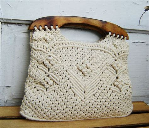 Crochet Macrame - bags macrame bag and facts on