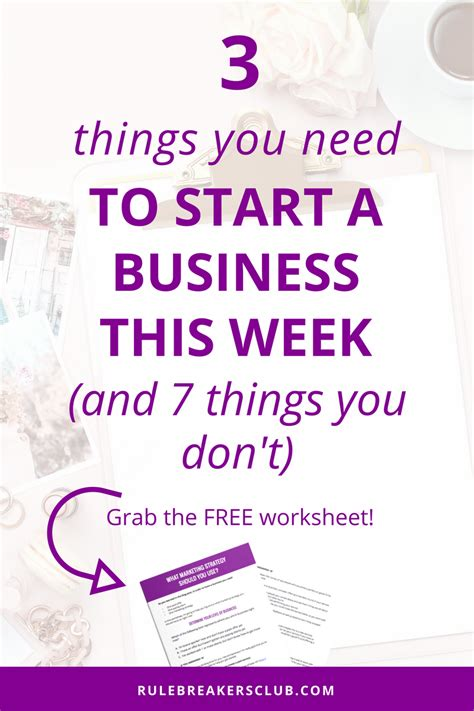 5 Mouthwatering Stuff To Start Your Week With by The Only 3 Things You Need To Start A Business And 7