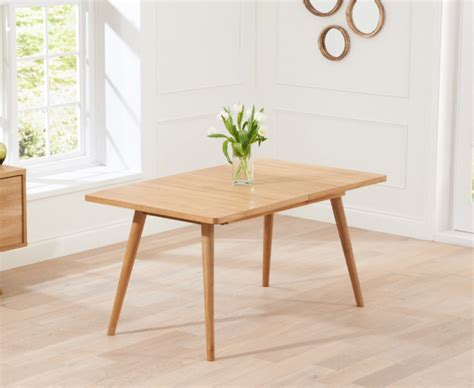 tivoli 150cm retro oak extending dining table the great