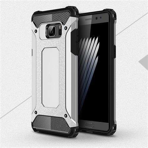 Samsung Note 7 Casing Cover Hybrid Bumper Armor Softcase 1 saapni samsung galaxy note 7 n930 armor hybrid dual layer shockproof touch cover