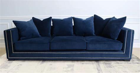 navy blue velvet sofa navy blue velvet sofa best blue velvet sofas roger