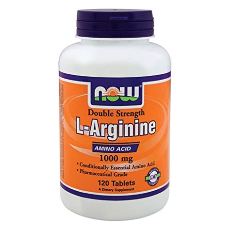 Sale Now Foods L Arginine 1000 Mg 120 Tablets now foods l arginine 1000mg 120 tablets 733739000354 toolfanatic