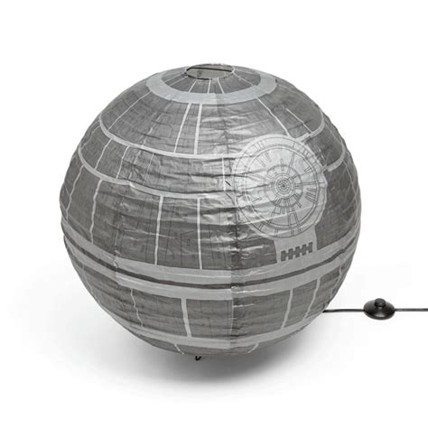 star wars death star giant paper lantern thinkgeek star wars death star giant paper lantern thinkgeek