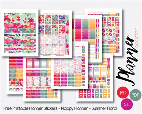 printable planner stickers 2016 free printable planner stickers planner addiction
