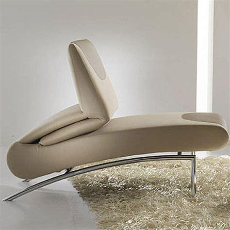 modern chaise chair bonaldo berlin modern chaise lounge chair by stefan