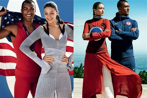 gigi hadid meets olympian ashton eaton vogue gigi hadid on the cover of vogue with olympic decathlete