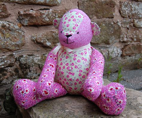 free mccalls pattern patchwork teddy sewmanju
