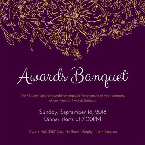 banquet invitation templates free banquet invitation templates canva