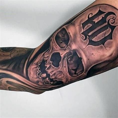 harley davidson skull tattoo designs 90 harley davidson tattoos for manly motorcycle