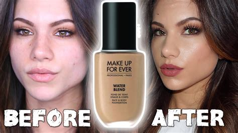 new makeup for water blend foundation