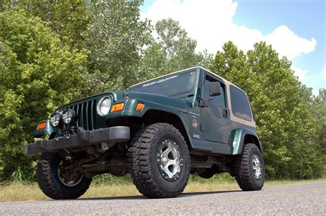 Lift Kit Jeep 1 5in Suspension Lift Kit For 97 06 Jeep Tj Wrangler