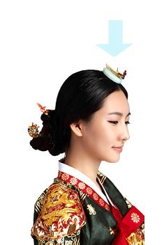 korean hairstyle for hanbok hairdos traditional and hair on pinterest