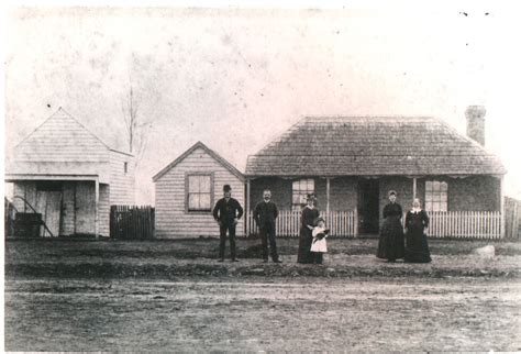 Butcher House by Whittlesea Local History Ca1900 Mclelland S Butcher Shop And House Epping