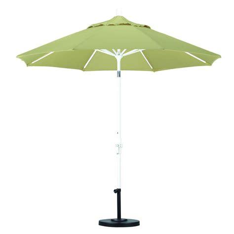 Tilt Patio Umbrella California Umbrella 9 Ft Aluminum Collar Tilt Patio Umbrella In Beige Pacifica Gscu908170 Sa22