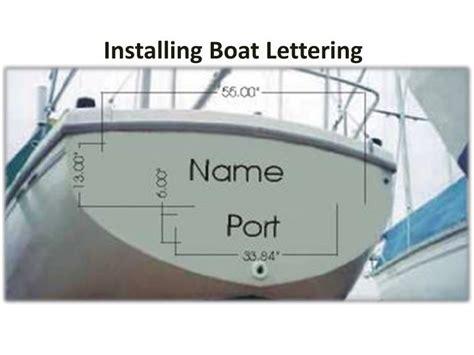 installing boat lettering ppt installing boat lettering powerpoint presentation