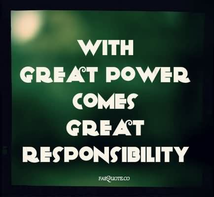 best responsibilities responsibility quotes sayings pictures images