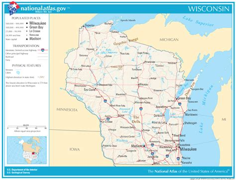 state road maps wisconsin state maps interactive wisconsin state road
