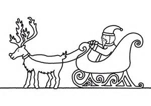 santa claus sleigh coloring pages coloring pages of santa claus and sleigh or print