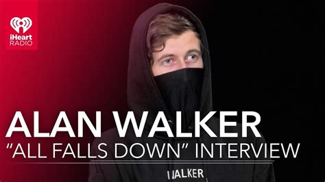 alan walker when it all falls down alan walker quot all falls down quot interview youtube