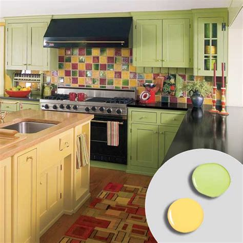 lime green and yellow kitchen 7 lemon lime 12 kitchen cabinet color combos that