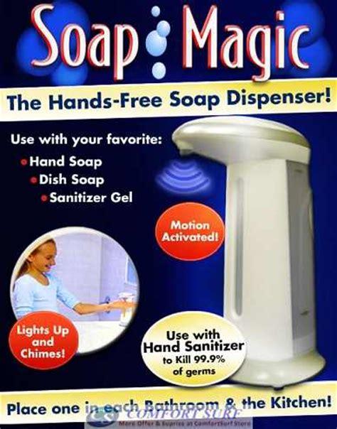 Dijamin Original Soap Magic The Free Soap Dispenser 75450202204 soap magic automatic wash cleaner free sensor
