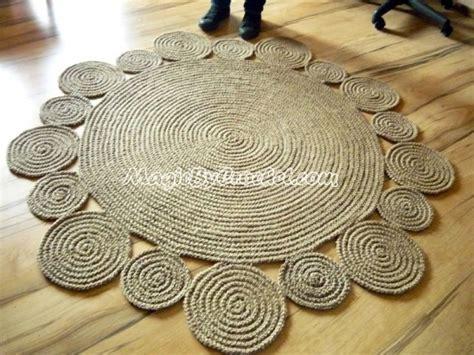 Handmade Jute Rugs - handmade playful jute rug 5ft