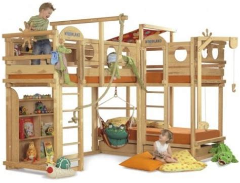 awesome bunkbeds play bunk beds from woodland sleep awesome and boys