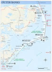 map of the outer banks carolina nps gov submerged submerged resources center national