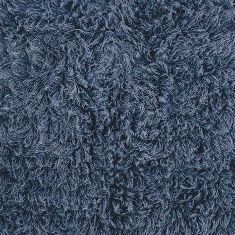Denim Blue Area Rug Genuine Flokati Denim Blue Shag Rug From The Flokati Rugs Collection Collection At Modern Area