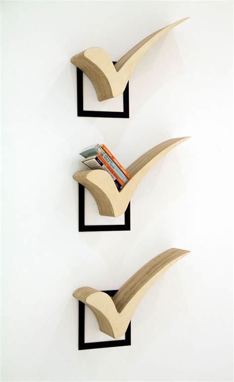 a collection of creative bookshelf designs