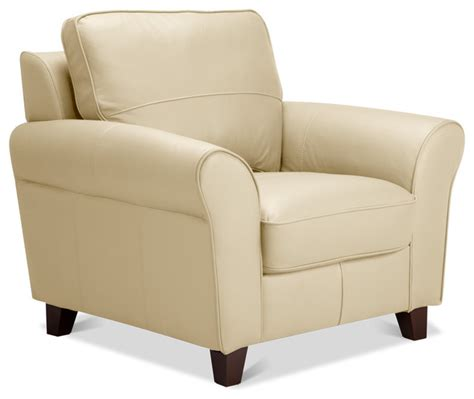 beige accent chair byron arm chair beige leather contemporary armchairs