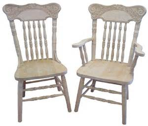 Amish Kitchen Tables And Chairs Amish Pressback Dining Chair