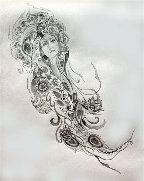metaphysical tattoo designs peacock symbolism tania s