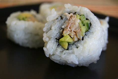 Kani Roll Crab Roll By Roku Bento blue crab california roll