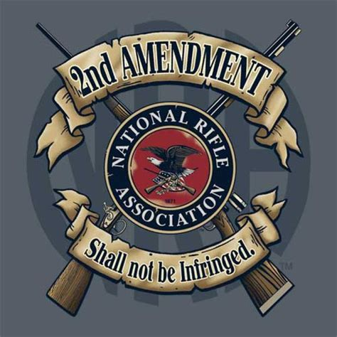 2nd amendment shall not be infringed buck wear brand nra
