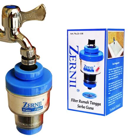 Penyaring Air Serbaguna Zernii Water Filter zernii water filter penyaring air ekonomis elevenia