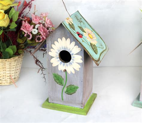 Aliexpress Com Buy Special Pastoral Wooden Bird Houses   house of bedroom kids picture more detailed picture