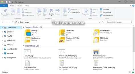 windows 10 file explorer tutorial open to this pc or quick access in file explorer in