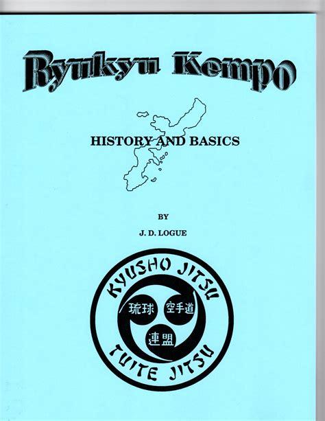 ryukyu kempo history basics written by kyoshi d