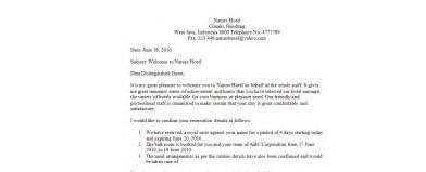 Swedish Business Letter Salutation Letter Hotel Hotelroomsearch Net