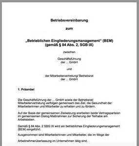 Musterbrief Termin Vereinbaren Praxisleitfaden Betriebliches Eingliederungsmanagement Ubgm