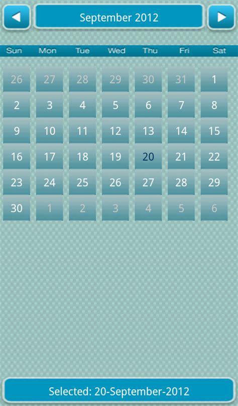 calendar templates for android calendar view android calendar template 2016