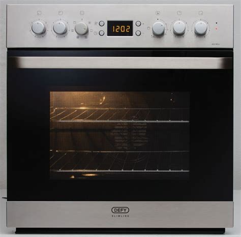 undercounter gas oven defy 600mm slimline multifunction undercounter oven defy