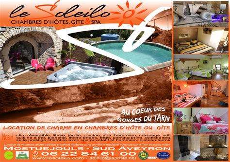 chambres d hotes aveyron avec piscine h 233 bergement insolite sud aveyron chambre avec spa privatif