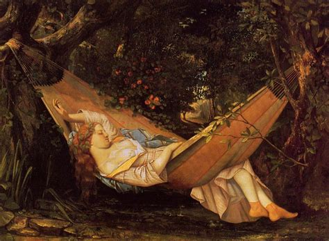 Courbet Sleepers by The Hammock 1844