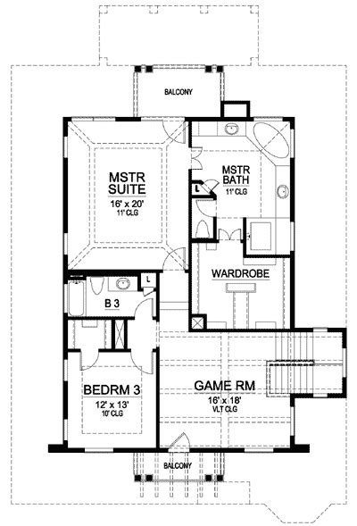 mission style in two versions 36346tx 2nd floor master suite butler walk in pantry cad mission style in two versions 36347tx 2nd floor master