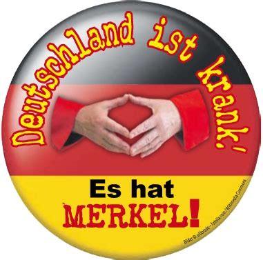 Aufkleber Gegen Cdu by Aufkleber Quot Deutschland Ist Krank Es Hat Merkel