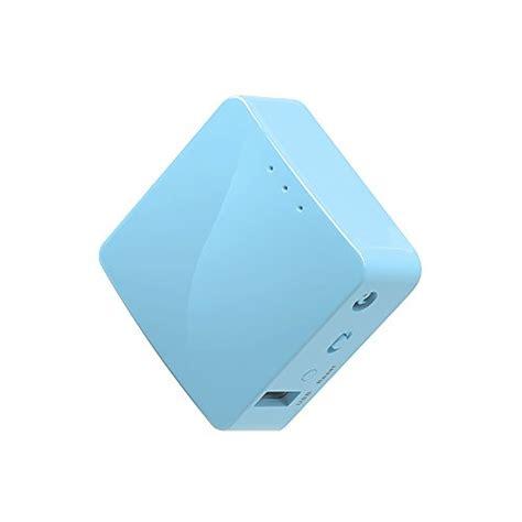 Gl Inet Openwrt Mini Smart Router Ddrii 128mb Gl Mt300a Blue gl inet gl mt300a mini travel router wi fi converter
