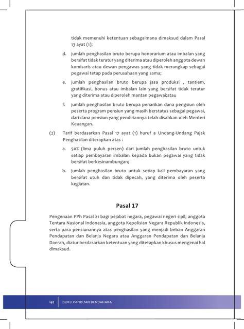 Syari Pasal Dua 2 pedoman penyetoran pph pasal 21